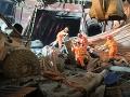 Obrovské nešťastie v Číne: VIDEO Zrútil sa diaľničný tunel, hlásia mŕtvych a nezvestných