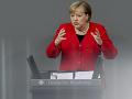 Potrebujeme udržať NATO, tvrdí Merkelová: Európa sa sama neubráni