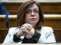 SNS otvára tému Istanbulského dohovoru znova a opäť necitlivo, myslí si poslankyňa Zimenová