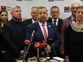 Harabin predstavil prvých 10 mien na kandidátke, rodinu nevylúčil