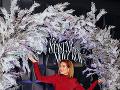 Zuzana Norisová na premiére filmu Šťastný nový rok