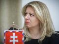 Zuzana Čaputová v prezidentskom paláci stretla rodinu