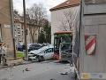 Nehoda v Bratislave.