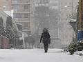 Sneženie v Košiciach