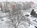 Prvý sneh v Trebišove
