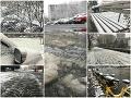 AKTUÁLNE Slovensko zasiahla prvá vlna sneženia: FOTO Doprava kolabuje, pri čelnej zrážke zomrela žena
