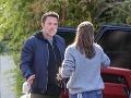 Napäté chvíle Bena Afflecka s exmanželkou: Hádka na verejnosti!