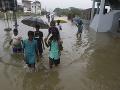 Ničivé záplavy v Indonézii: Len v hlavnom meste zomrelo deväť ľudí