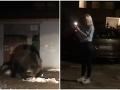 Mimoriadne nebezpečné VIDEO z Tatier: Blondínka si natáčala medvedicu, od smrti ju delil jeden krok