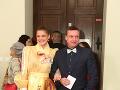 Súčasťou večera bol aj moderátor Marcel Forgáč a šansónová speváčka Katka Feldeková.