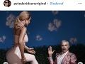 Pete Davidson sa nezvyčajnými fotkami pochválil aj na instagrame.