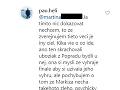Paul sa na Instagrame vyjadril na adresu Rada, že je psychicky narušený.