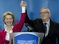Nikto neurobil pre EÚ toľko ako Jean-Claude Juncker: Slová chvály mu vyslovila nová predsedníčka