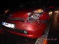 Opitá vodička zavinila dopravnú nehodu.