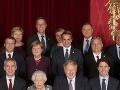 Prezidentku Zuzanu Čaputovú (hore v strede) zatienil grécky premiér Kyriakos Mitsotakis