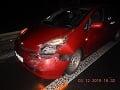Vodička spôsobila nehodu v najväčšej špičke: Nafúkala viac ako tri promile, začalo sa vyšetrovanie