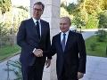 Putin by zabránil bombardovaniu Juhoslávie, tvrdí srbský prezident