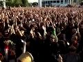 Demonštrácia v Čile: Do protestu proti sexuálnemu násiliu sa zapojili tisícky žien
