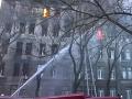Požiar školskej budovy na