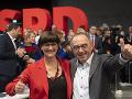 Koná sa zjazd nemeckej SPD: Strana sa venovala otázkam sociálnej politiky a volila vedenie