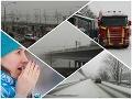 Zlá správa pre vodičov! FOTO V druhej polovici týždňa sa počasie zhorší, dorazí snehová nádielka