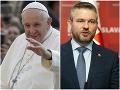 Pellegrini vo vytržení: FOTO Po stretnutí s pápežom Františkom je nadšený