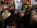 Minúta ticha pre obete z Ostravy: Z hlučného protestu proti Babišovi pochod ulicami