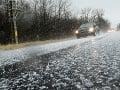 Dobrá správa pre vodičov: Cesty sú zjazdné, pozor na vyššie položené úseky