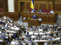 Ukrajinský parlament sa zmenil
