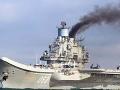 Peklo v prístave Murmansk: Horí Putinova pýcha, jediná ruská lietadlová loď Admirál Kuznecov