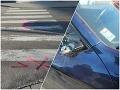 Desivá nehoda v Považskej Bystrici: FOTO Vodič pred obchodným domom zrazil manželov, polícia varuje