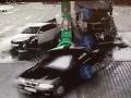 Polícia ukázala VIDEO havárie na čerpacej stanici: Vodič BMW mal z pekla šťastie