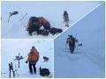 MIMORIADNE V Nízkych Tatrách spadla lavína: FOTO Zasiahla mladých Slovákov, jeden neprežil