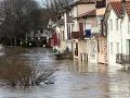 Tragické následky počasia vo Francúzsku: VIDEO Zaplavené domy, hlásia už tri obete