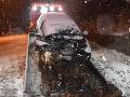Desivé FOTO nehody v Harmanci: Vodič (†39) čelne narazil do oporného múru, smutné zistenia z pitvy