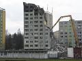 Suma 1,1 milióna eur za záchranné práce na bytovke je podľa prešovskej radnice predbežná