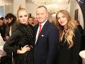 Sašku prišli podporiť aj pyšný otec Boris a nevlastná sestra Vanessa.