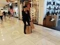 Zuzana Haasová nakupovala darčeky pre svojich blízkych vo Viedni.