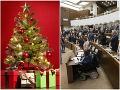 Tradičné Vianoce u politikov: Nechýbajú tradície, hudba, ale aj polnočná omša