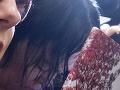 Alena Zsuzsová si celý čas zakrývala tvár