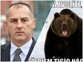 Kotlebovec z Martina chce strieľať medvede: FOTO Okamžitý výsmech a zver žerúci náckov
