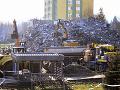 Demolácia zničenej bytovky v Prešove: Náklady na odvoz sutín sú zatiaľ zhruba 1,1 milióna eur