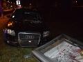 FOTO Vodička v Piešťanoch bola poriadne pod parou: S vyše dvomi promile napálila do tabule
