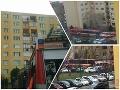 FOTO Ďalší únik plynu: V Dunajskej Strede museli obyvateľov evakuovať z bytovky