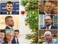 Politická kampaň počas Vianoc? Strany sa viac-menej zhodli na pauze, SaSkári idú proti prúdu