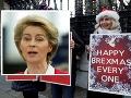 Dohoda medzi EÚ a Britániou bude ťažká: Na rokovania po BREXITE máme málo času! Varuje šéfka EK