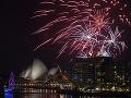FOTO Oslavy príchodu nového roka 2020 vo svete: Veľkolepé ohňostroje aj laserová šou