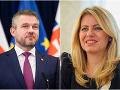 Premiér Peter Pellegrini a prezidentka Zuzana Čaputová
