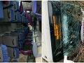 PRÁVE TERAZ V Jasove sa prevrátil autobus: FOTO Hlásia zranených, zasahujú desiatky hasičov