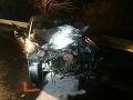 FOTO Vážna nehoda blízko Nižného Hrabovca: Zrazilo sa až 5 áut, cesta je uzavretá
